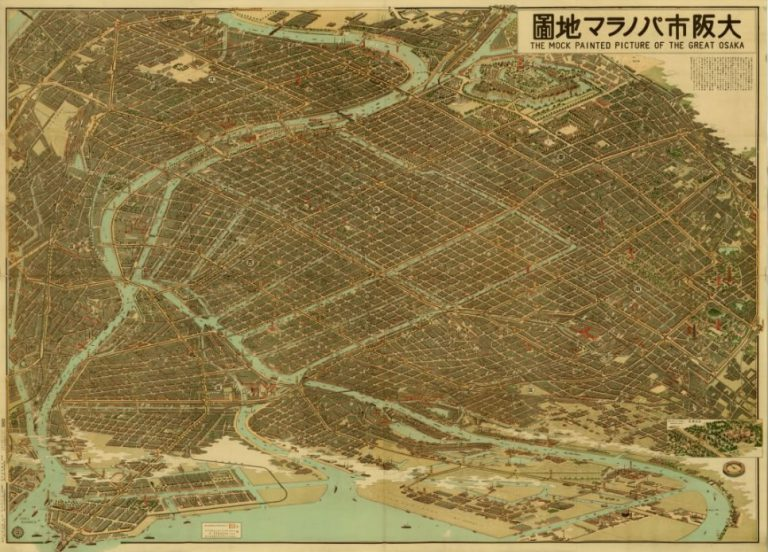 大阪市パノラマ地図