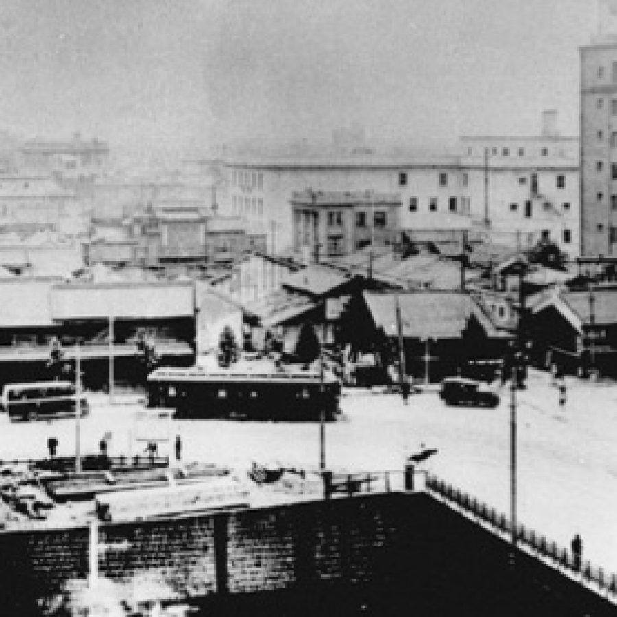 淀屋橋南詰付近の風景