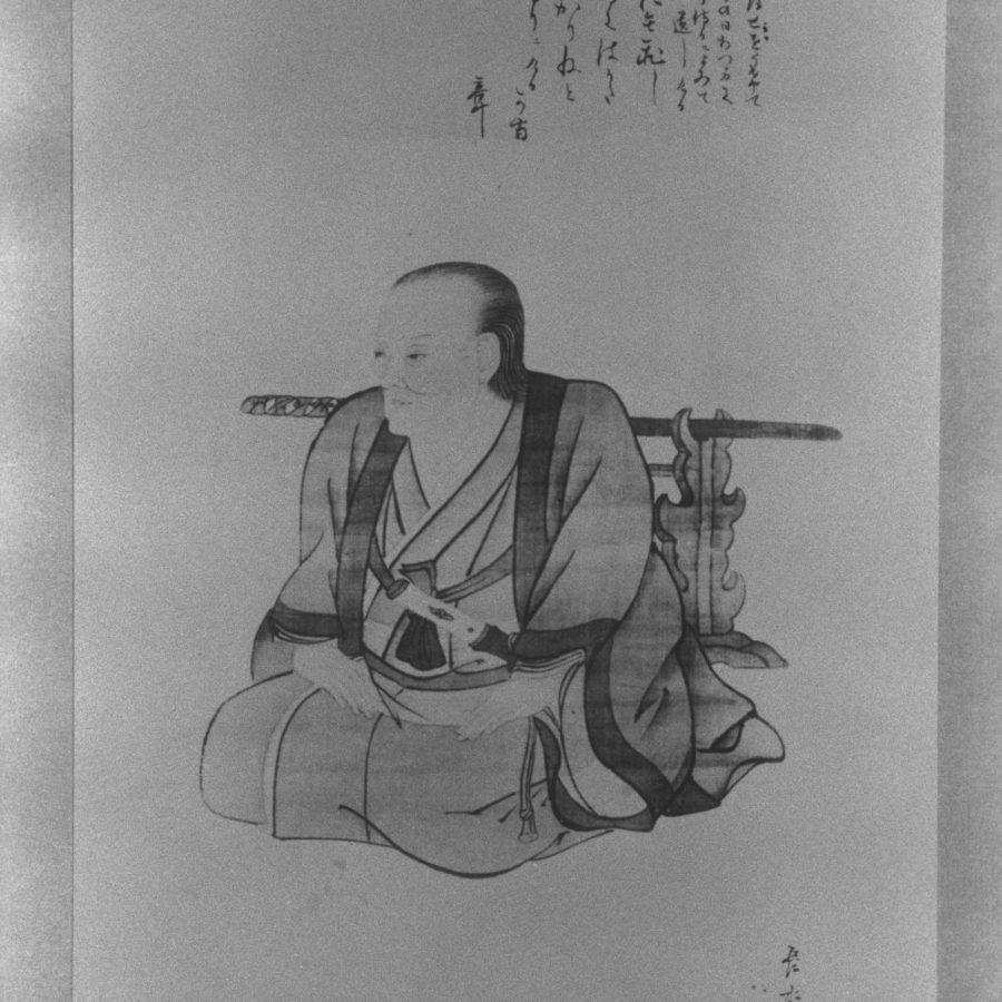緒方洪庵(博物館・模写)