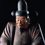Wooden Image of Hideyoshi Toyotomi