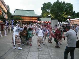 Ikutama Summer Festival in Ikukunitama Shrine 2014