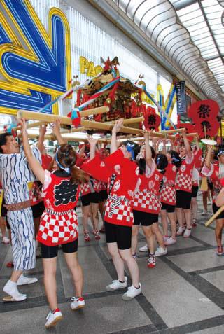 Mitsu Hachiman Shrine Summer Festival