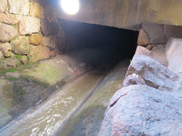 太閤下水(背割り下水)