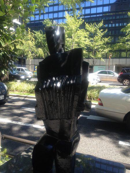 御堂筋彫刻ストリート / アコーディオン弾き:W-11