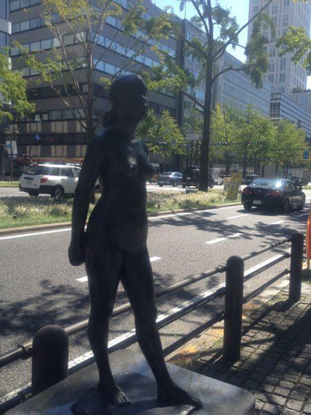 御堂筋彫刻ストリート / レイ:W-10