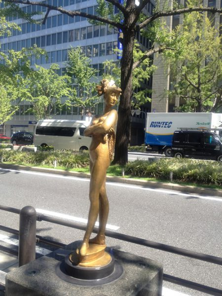 Midosuji Sculpture Street / Dancer:W-1