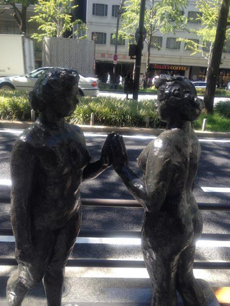 御堂筋彫刻ストリート / みちのく:E-5
