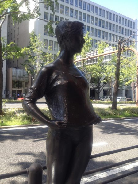Midosuji Sculpture Street / Young Woman:E-9