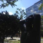 Midosuji Sculpture Street / Grande Femme Bras Leves:E-10