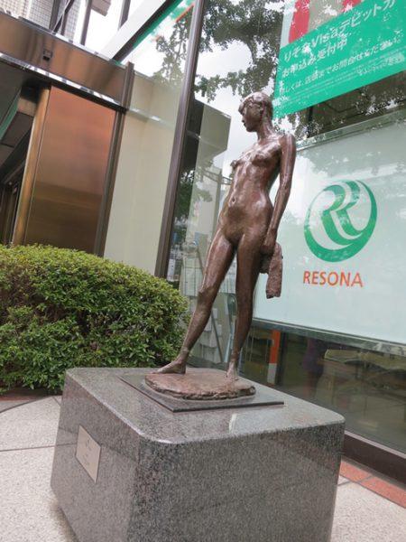 御堂筋彫刻ストリート / 布:W-14