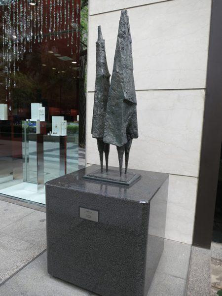 Midosuji Sculpture Street / Boy and Girl:E-15