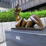 Midosuji Sculpture Street / Working Model for Two Piece Figure Cut:W-13