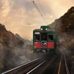 こうや花鉄道、天空で行く高野山