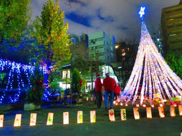エコクリスマス☆中大江公園であたたかい煌めきを