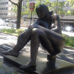 Midosuji Sculpture Street / Donna Seduta:E-3