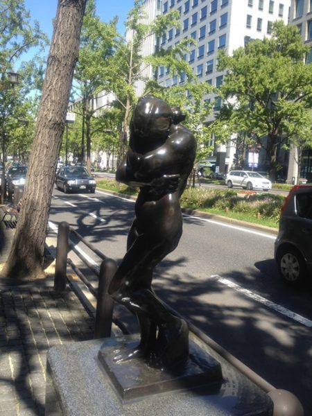 御堂筋彫刻ストリート / イヴ:W-7