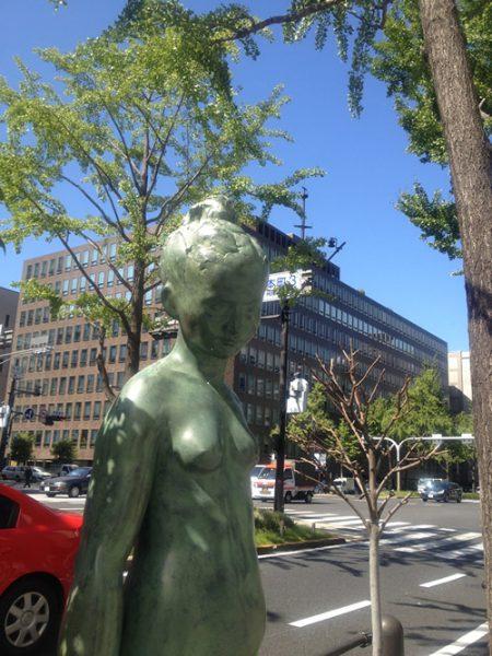 御堂筋彫刻ストリート / ブレンタのヴィーナス:E-13