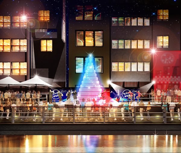 第1回「なんば学生祭」in 道頓堀 クリスマスイベント