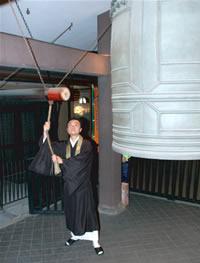南御堂(難波別院) 除夜の鐘