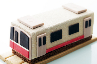 大阪市営地下鉄開業80周年記念「地下鉄ケーキ」