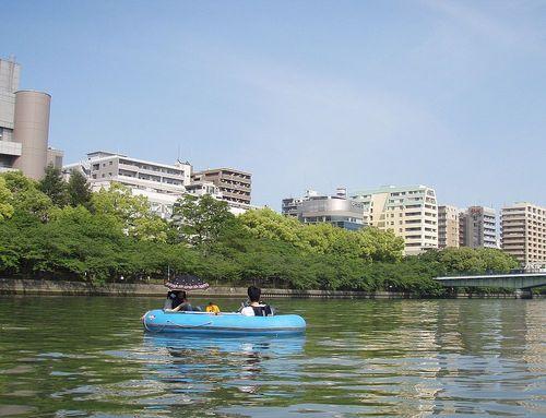 友達や恋人と一緒に漕ぎ出よう!大阪ラブボート「ポタリング」編