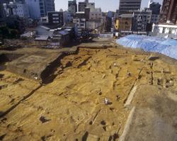 四天王寺の南方で7~8世紀の建物群-天王寺区北河堀町所在遺跡の発掘調査成果 写真展-