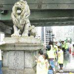 橋洗いブラッシュアップ大作戦 ~難波橋~