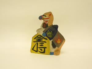 大阪歴史博物館 常設展示「馬の郷土玩具」