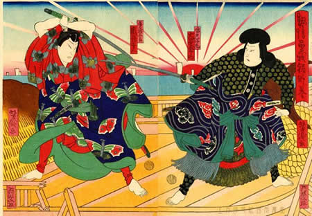 "The 50th feature exhibition ""Ukiyo-e from various aspects : The Color RED"""