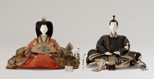 大阪歴史博物館 「雛人形の展示」