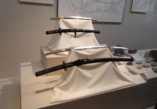 大阪歴史博物館 常設展「黒田家伝来の名刀」