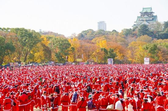 Osaka Great Santa Run 2016