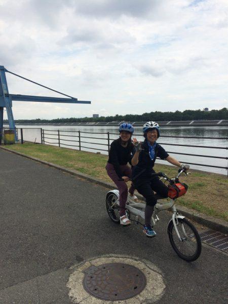 上町台地で真田幸村ゆかりの地を巡るタンデム自転車ツアー