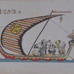 大阪歴史博物館 常設展示「昭和初期の大阪の趣味家が発行した宝船」