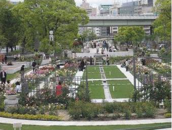 中之島公園バラ園 2015春のローズツアー