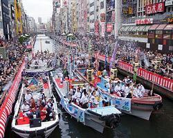 七月大歌舞伎船乗り込み
