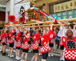 御津宮(御津八幡宮)夏祭