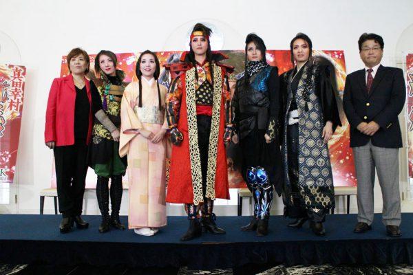 OSK日本歌劇団「紅に燃ゆる~真田幸村 紅蓮の奏乱~」製作発表