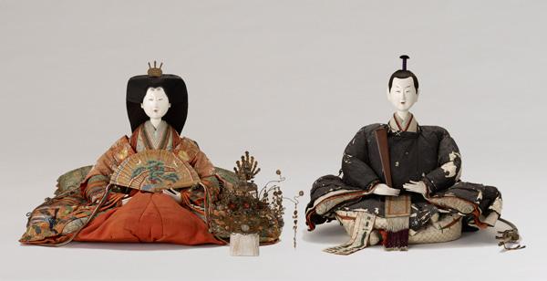 大阪歴史博物館 雛人形の展示
