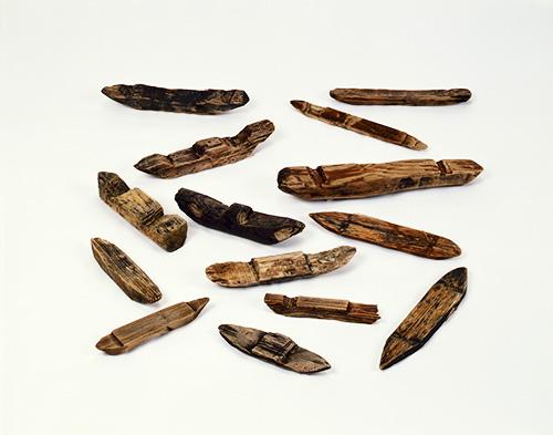 大阪歴史博物館 常設展「飛鳥時代の祭祀のあと-住友銅吹所下層の木製品-」