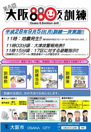 第5回大阪880万人訓練