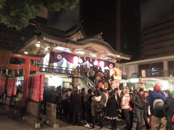 大阪市中央区の初詣マップ