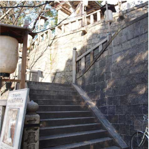 西坂(高津宮)