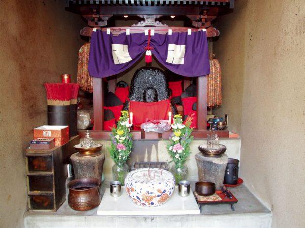 Aburakake Jizo-son Buddhist Statue