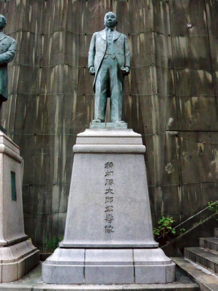 The Statue of Katsutaro Inabata