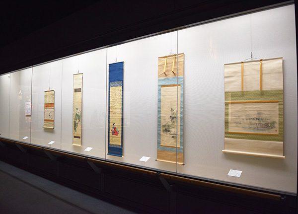 大阪歴史博物館 常設展示「大坂四条派の絵画」