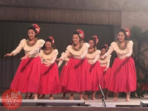 ハワイアン・フラダンスショー