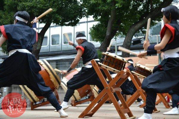難波神社特設野外ステージ