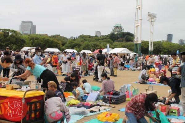 ごみ減量フェスティバル2017「ガレージセール・イン・OSAKA TOWN」