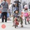 自転車の安全啓発イベント「スマイルサイクルフェスタin大阪」